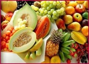 Много фруктов