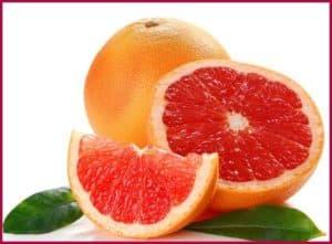 Грейпфрут долькой