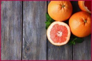 Грейпфрут на досках