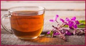 Заваренный иван чай