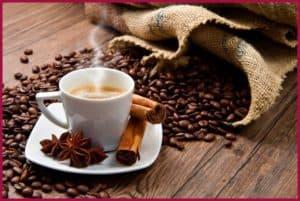 кофе и корица