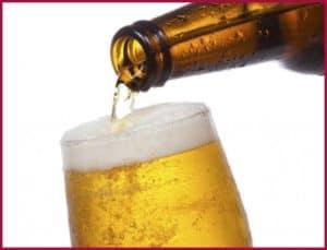 пиво в кружке