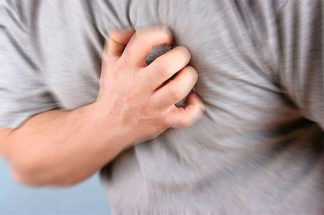 Признаки на инфаркт левого желудочка