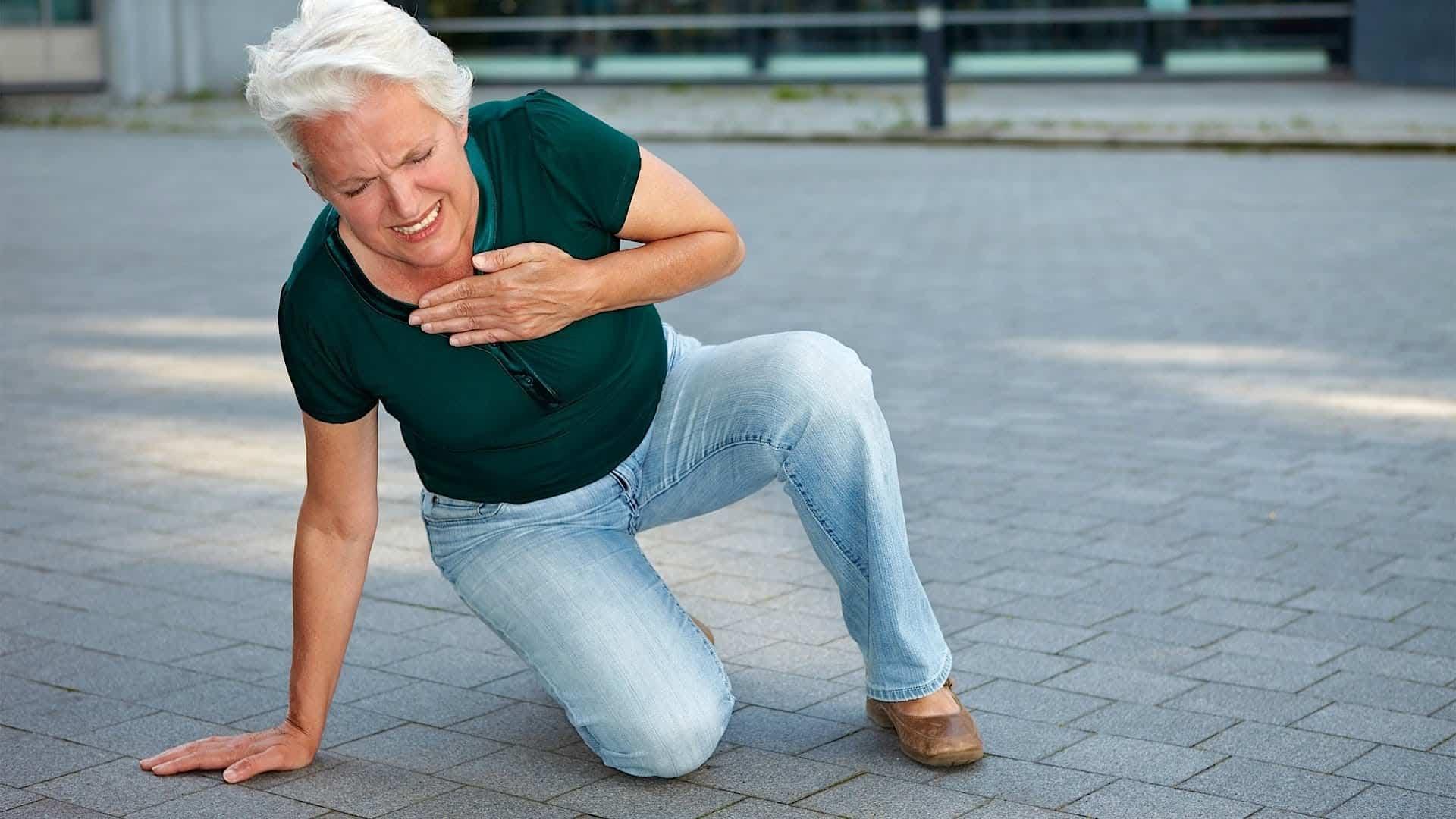 Острый инфаркт миокарда передней стенки левого желудочка