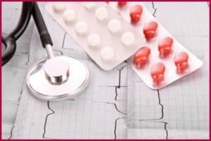 Таблетки и ЭКГ