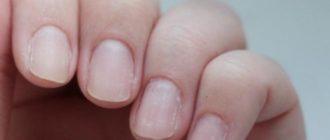 Ногти человека