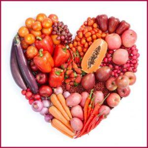 Еда в форме сердца