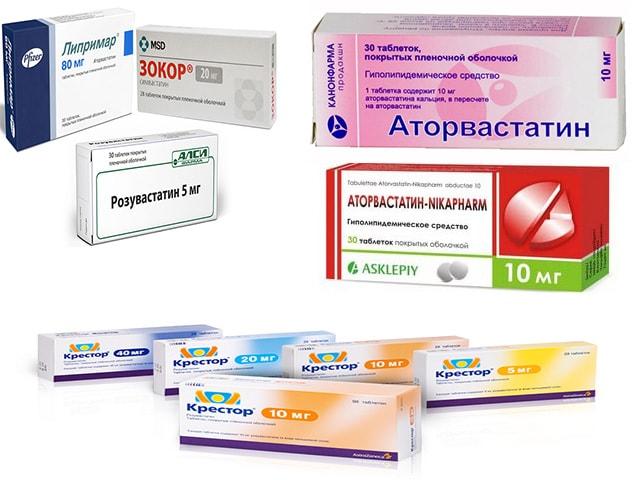 холестериносодержащие лекарства